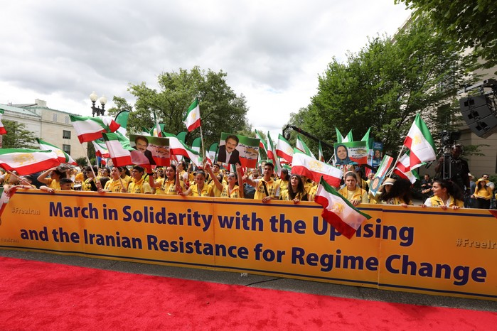 1- Iran Solidarity March 2019 - Iranians March with Iranian People for Regime Change - June 21, 2019 - Washington DC across DOS
