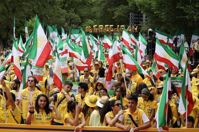 2- Iran Solidarity March 2019 - Iranians March with Iranian People for Regime Change - June 21, 2019 - Washington DC across DOS(26)