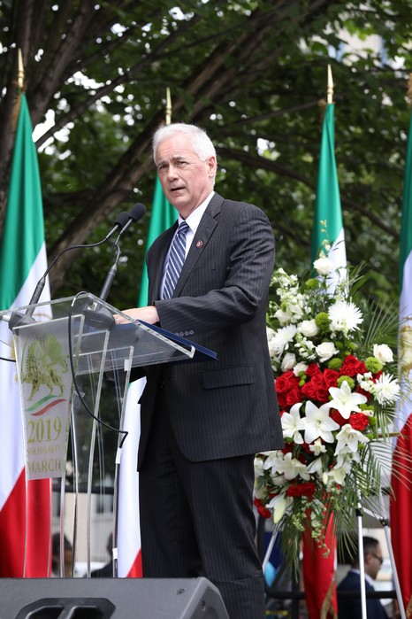 3- Iran Solidarity March 2019 - Rep. Tom McClintock Speaking - June 21, 2019 - Washington DC across DOS (31)