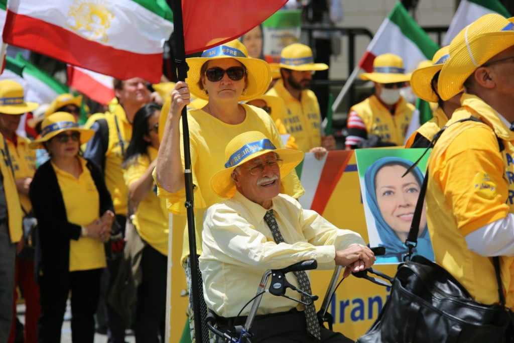 5- Iran Solidarity March 2019 - Iranians March with Iranian People for Regime Change - June 21, 2019 - Washington DC from DOS to the White House