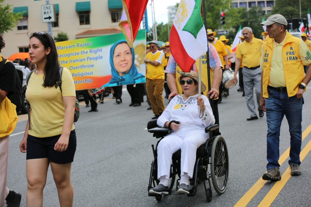 5- Iran Solidarity March 2019 - Iranians March with Iranian People for Regime Change - June 21, 2019 - Washington DC from DOS to the White House (2)