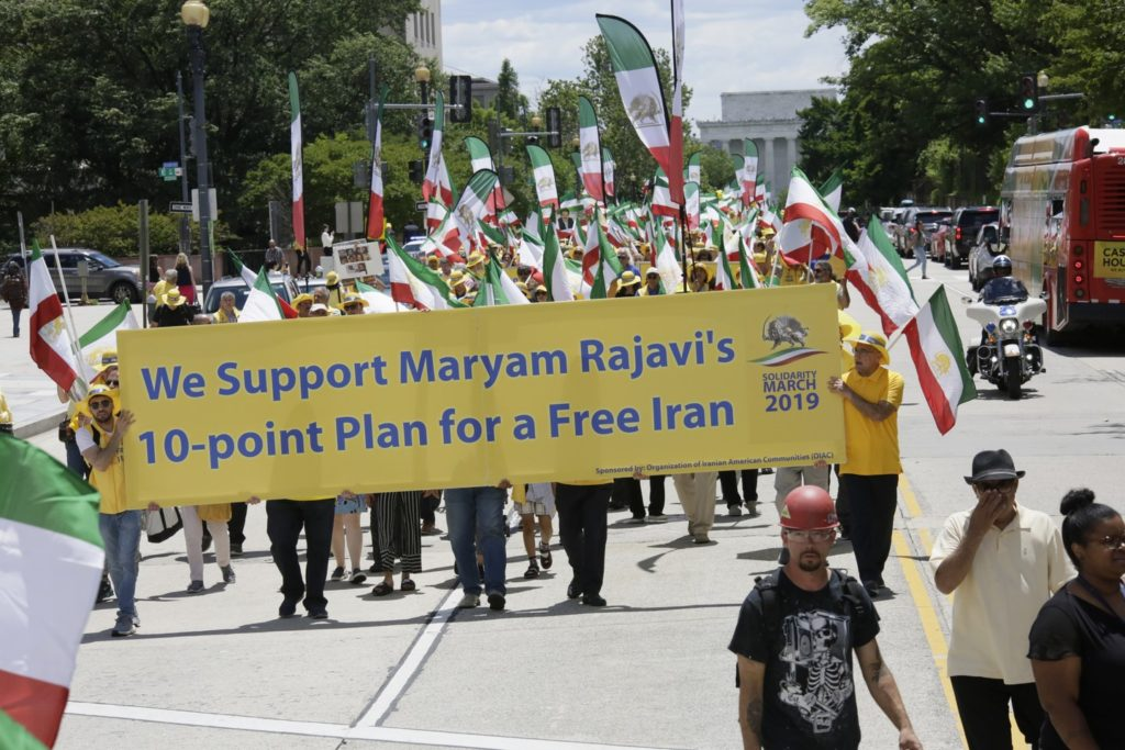 5- Iran Solidarity March 2019 - with Iranian People for Regime Change - June 21, 2019 - Washington DC from 23rd. St. to the White House