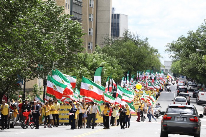 7- Iran Solidarity March 2019 - Thousands March for Regime Change - June 21, 2019 - Washington DC, from DOS to the White House